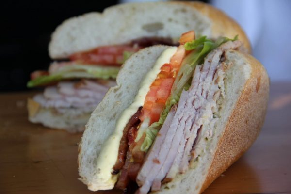 Pictured: Our Smoked Turkey BLT