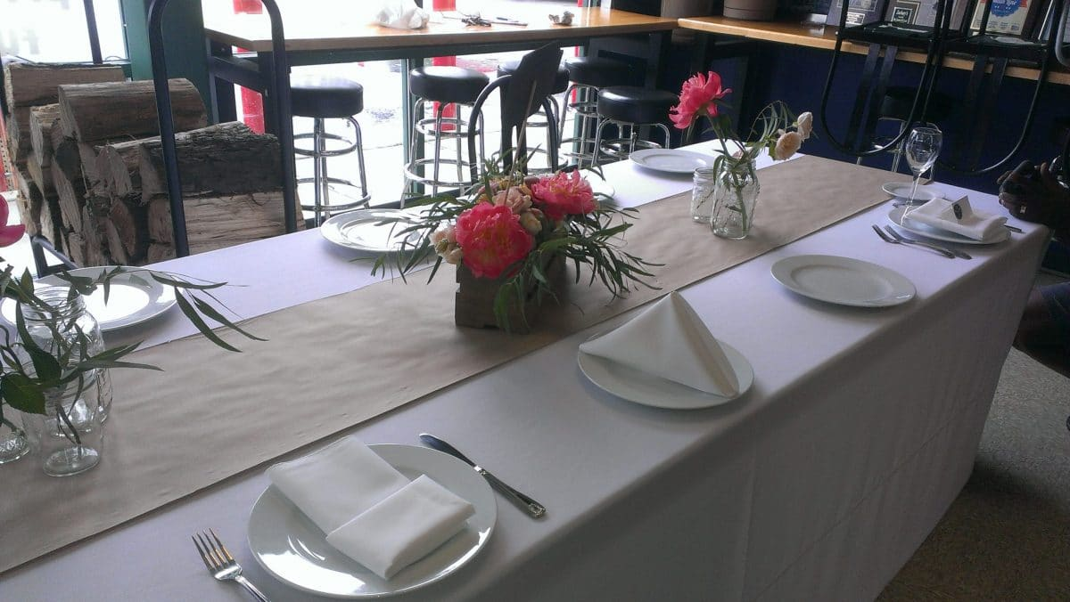 Wedding-catering-table-setting