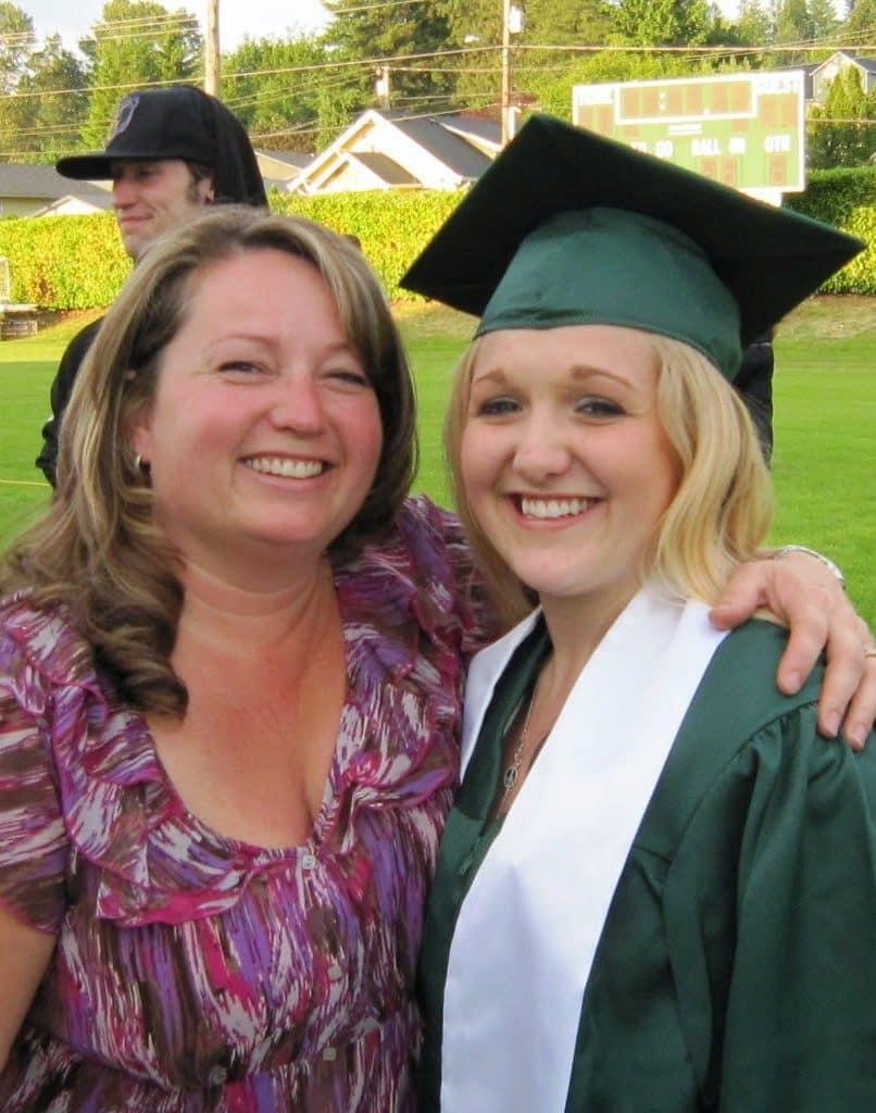 graduate and mom 2019