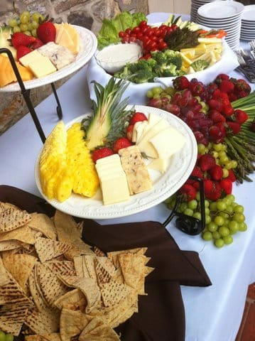 wedding-hors d oeuvres-station