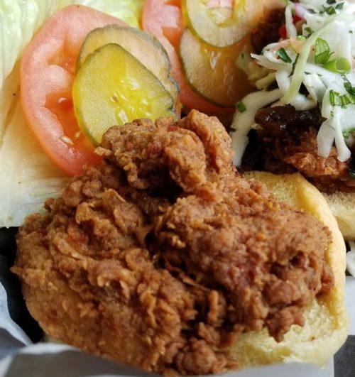 Shaker Fried Chicken Sandwich